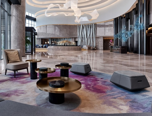 Marriott hotel – commercial lobby furniture