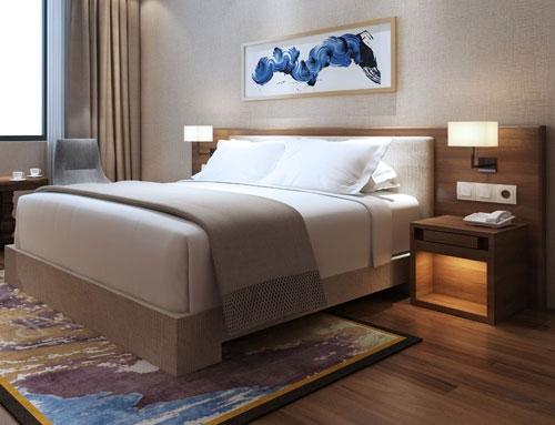 Bedroom suite sample motel furniture wholesale