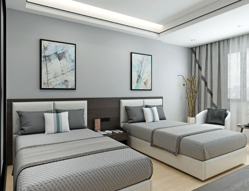 Twin bedroom suite walnut furniture for sale