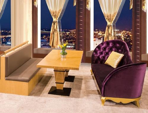 Restaurant furniture suppliers – sofa & table