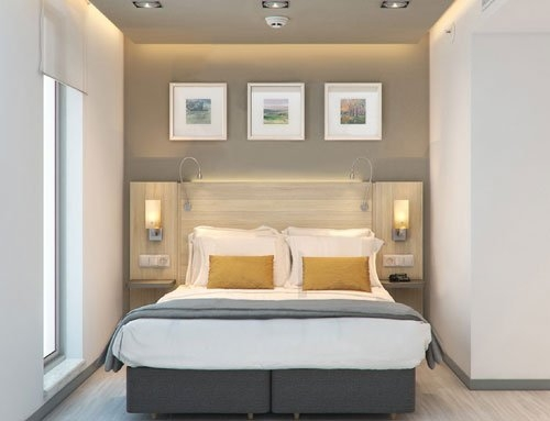 How to designing furniture to fit into small hotel rooms?