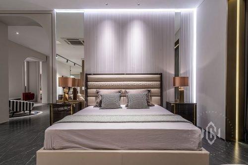 Modern Bedroom set unique bed